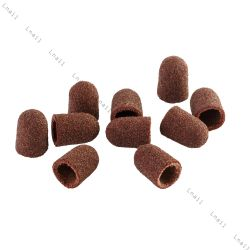 Sanding cap Ø 7 mm 100 pcs Rounded Coarseness: medium 120