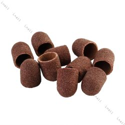АБРАЗИВНЫЕ Колпачки Ø 10 mm 100 штук в упаковке Зернистость Средняя (120)