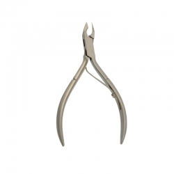 Cuticle Nipper Box Joint Single Blade Spring 10cm. 5mm