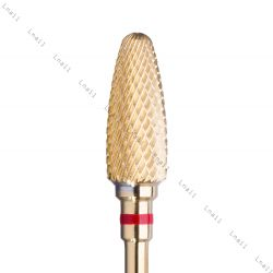 Tungsten carbide fine Flame Bit F Gold
