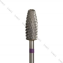 Carbide Bur fine cross cut violet