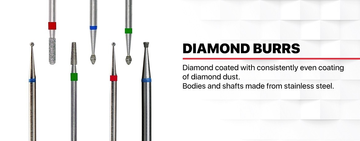 Daimond bits Ideal for cuticle clean
