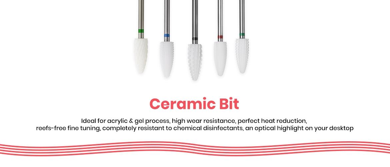 Ceramic bits
